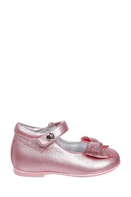 Кожаные розовые туфли Missouri Kids 2664153591