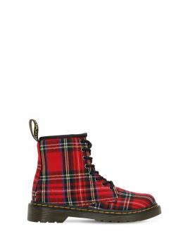 Ботинки Из Хлопкового Канваса Dr. Martens 70I90T019-MTQ2MCBUQVJUQU41