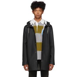 Stutterheim Black Stockholm Raincoat 1001