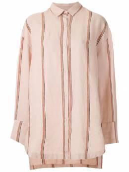 Osklen полосатая рубашка оверсайз 59480
