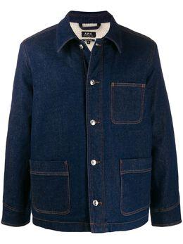 A.P.C. джинсовая куртка свободного кроя CODBRH02574