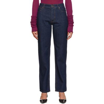 Victoria, Victoria Beckham Blue Arizona Jeans VB410 AW19P - 1