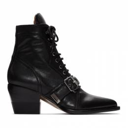 Chloe Black Rylee Boots CHC19W249G2