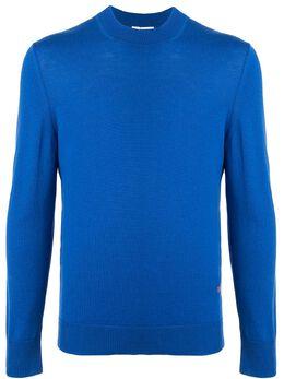 Ck Calvin Klein свитер с круглым вырезом 026WM84098SBO