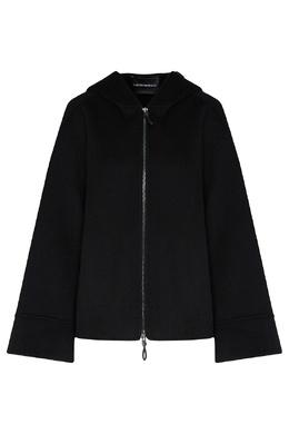 Черная кашемировая куртка Emporio Armani 2706154283