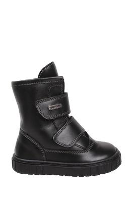 Черные ботинки с металлическим логотипом Missouri Kids 2664154089