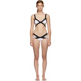 Agent Provocateur Black and White Mazzy Bikini 108406-108407