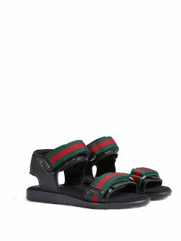 Gucci Kids сандалии с ремешками Web 257761BLN10