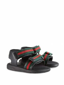 Gucci Kids сандалии с ремешками Web 257759BLN10
