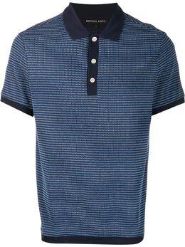 Michael Kors рубашка-поло с контрастной отделкой CU95HDT6VC