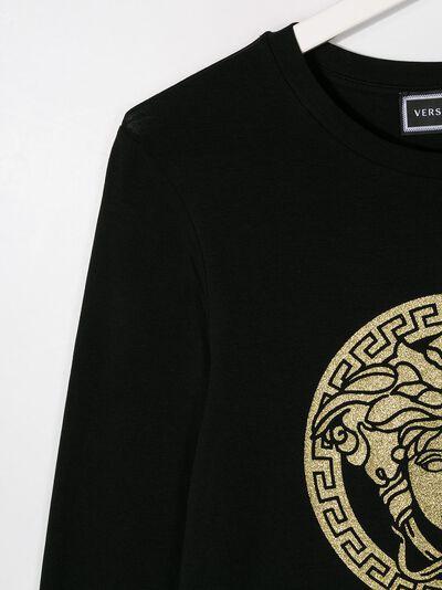 Young Versace - платье с логотипом Medusa 66983YA66699YA668955 - 3