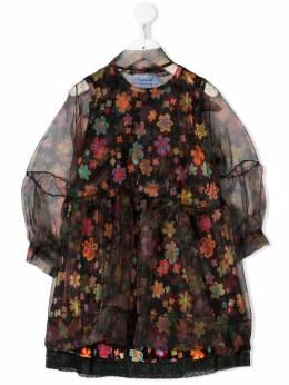 Mi Mi Sol шифоновое платье с цветочным принтом MFAB042TS0063