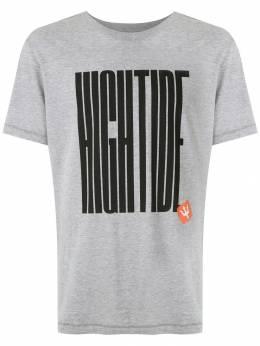 Osklen футболка с принтом Hightide 59077