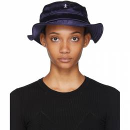 Opening Ceremony SSENSE Exclusive Black Neoprene Bucket Hat F19ZEI28045