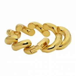 Balenciaga Gold Loop Bracelet 578234 TZ39G