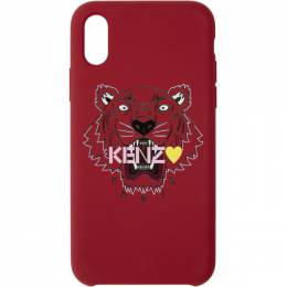 Kenzo Red Limited Edition Tiger iPhone XS Max Case 192387M15302001GB