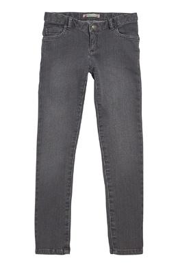 Серые джинсы с вышивкой Bonpoint 1210152808