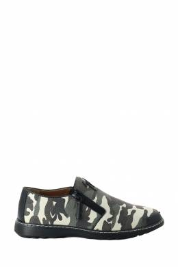 Камуфляжные лоферы из текстиля Giuseppe Zanotti Design 2096155103