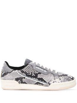 Adidas кроссовки Continental 80 с тиснением под кожу змеи EH0169