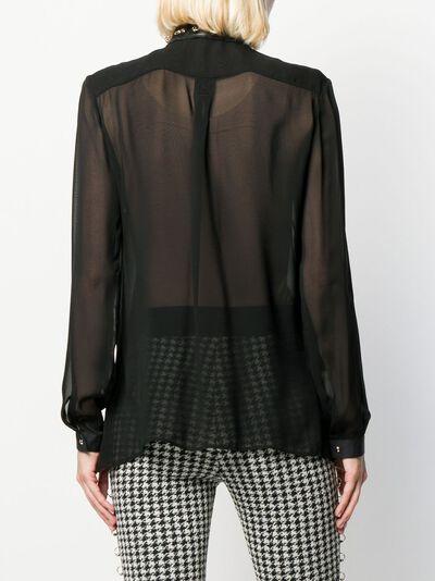 Just Cavalli блузка с кольцами S04DL0230N38443 - 4