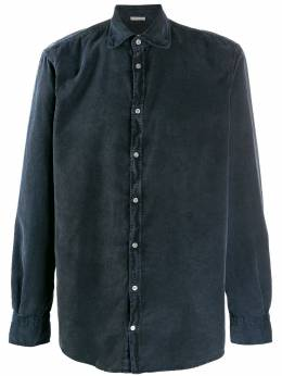 Massimo Alba рубашка узкого кроя с длинными рукавами CANARYT4243