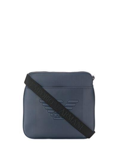 Emporio Armani сумка на плечо с тисненым логотипом Y4M177YFE6J - 1