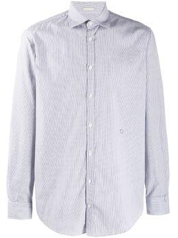 Massimo Alba рубашка узкого кроя с длинными рукавами CANARYT4235