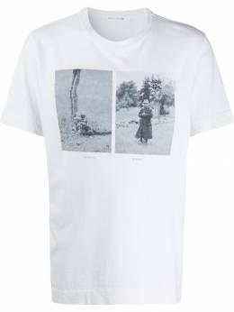 1017 Alyx 9Sm футболка с круглым вырезом и принтом AAUTS0078FA06