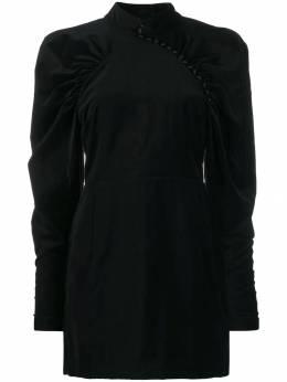 Rotate платье с объемными рукавами 900492NUMBER1VELVET