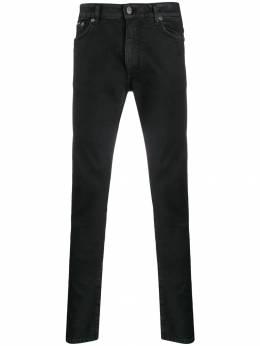 Represent вощеные джинсы скинни M07024