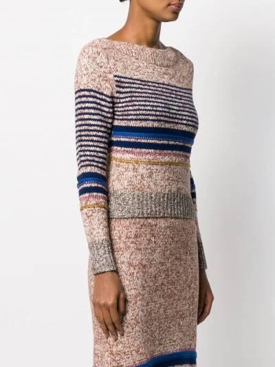 See By Chloe свитер в горизонтальную полоску CHS19WMP14570 - 3
