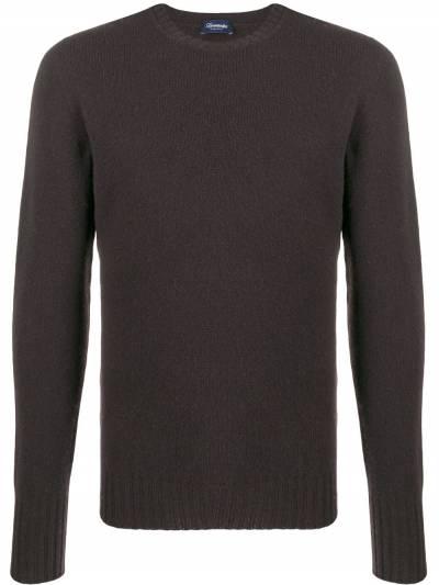 Drumohr пуловер кроя слим с круглым вырезом D4W103 - 1