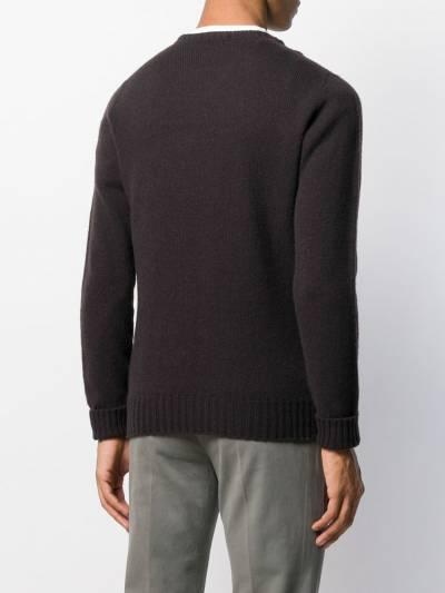 Drumohr пуловер кроя слим с круглым вырезом D4W103 - 4
