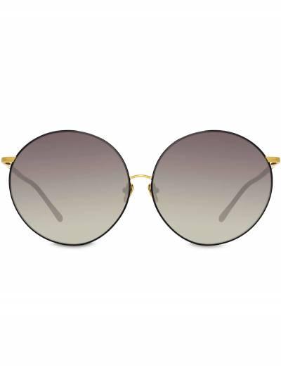 Linda Farrow солнцезащитные очки в круглой оправе LFL891C1SUN - 1
