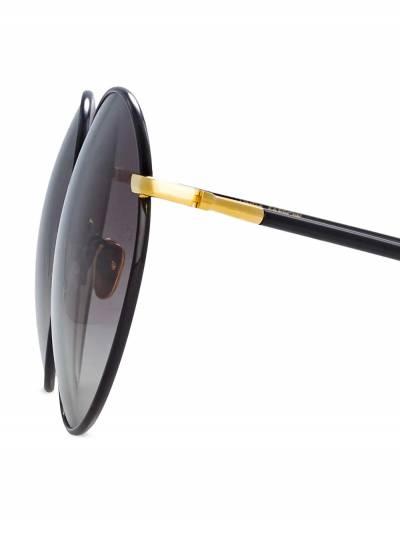 Linda Farrow солнцезащитные очки в круглой оправе LFL891C1SUN - 3