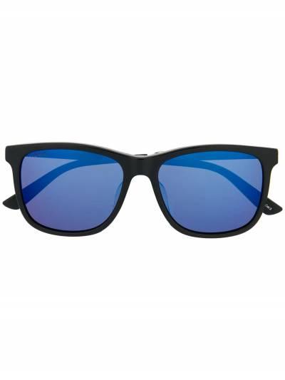 Gucci Eyewear солнцезащитные очки в квадратной оправе GG0078SK001 - 1