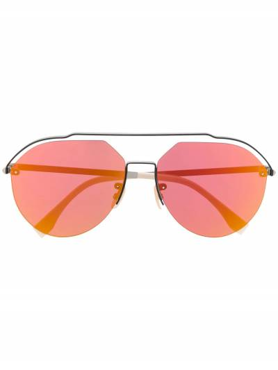 Fendi Eyewear солнцезащитные очки-авиаторы FFM0031S - 1