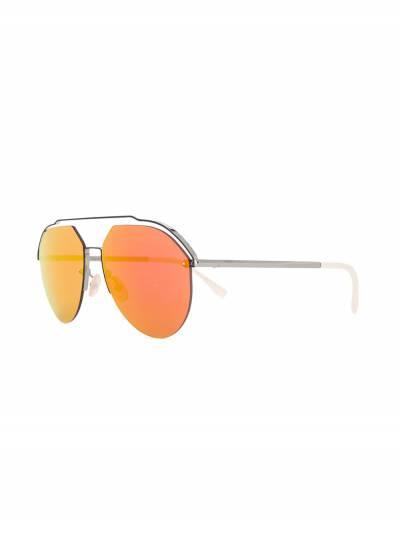 Fendi Eyewear солнцезащитные очки-авиаторы FFM0031S - 2