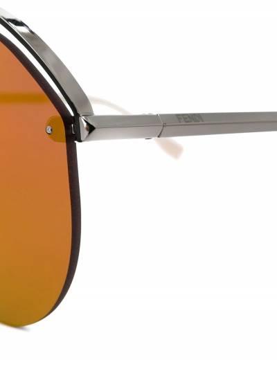 Fendi Eyewear солнцезащитные очки-авиаторы FFM0031S - 3