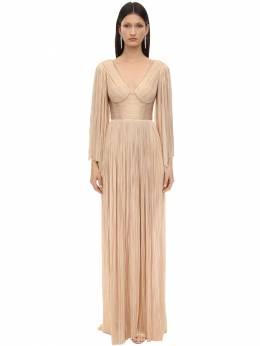 "Платье Из Тюля ""catalina"" Maria Lucia Hohan 70IA7L005-TUFSWklQQU41"