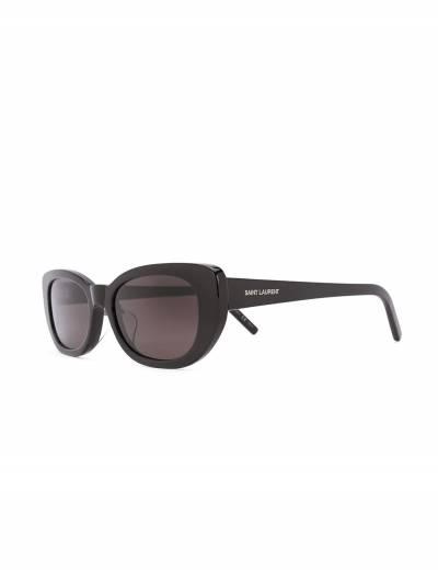 Saint Laurent Eyewear солнцезащитные очки в оправе 'кошачий глаз' SL316FBETTY - 2