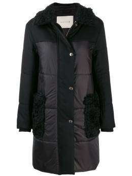 Mackintosh шуба с накладными карманами MO3942