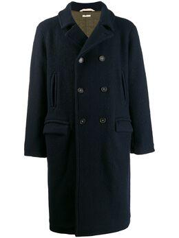 Massimo Alba двубортное пальто миди 16U0FRISCJ0099