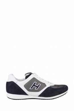 Сине-белые кроссовки Hogan 1791154801