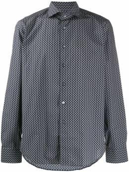 Dell'oglio рубашка с цветочным принтом BAC46S7UI40107HG1
