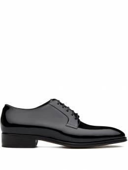 Giuseppe Zanotti Design туфли Roger на шнуровке IU90023001