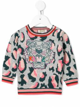 Kenzo Kids джемпер с вышивкой Tiger KP18058BB25