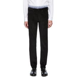 Ps by Paul Smith Black Corduroy Five-Pocket Trousers M2R-301Z-B20110