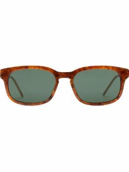 Gucci Eyewear солнцезащитные очки в прямоугольной оправе 596070J0740