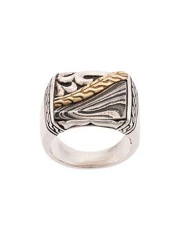 John Hardy кольцо Classic Chain с гравировкой RMZ90469STL
